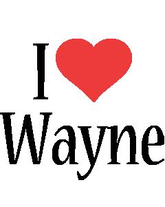 Wayne i-love logo