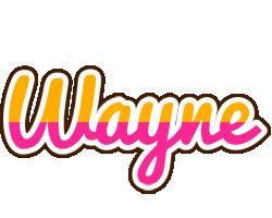 Wayne smoothie logo