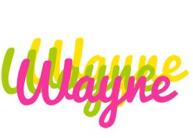 Wayne sweets logo