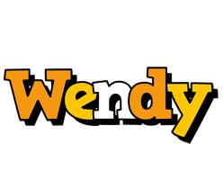 Wendy cartoon logo