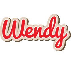 Wendy chocolate logo
