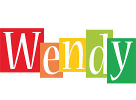 Wendy colors logo