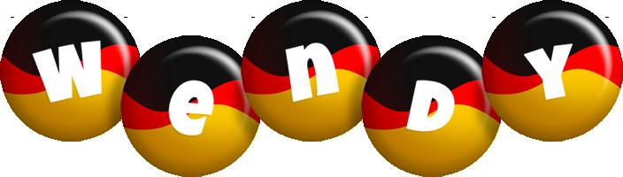 Wendy german logo