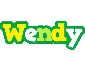 Wendy soccer logo