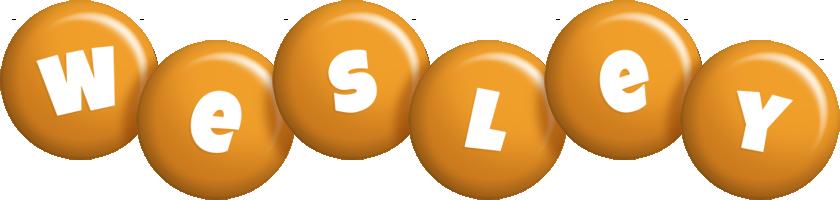 Wesley candy-orange logo