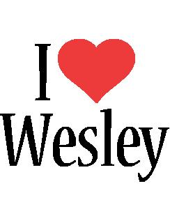 Wesley i-love logo