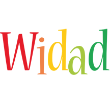 Widad birthday logo