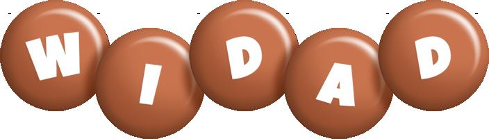 Widad candy-brown logo