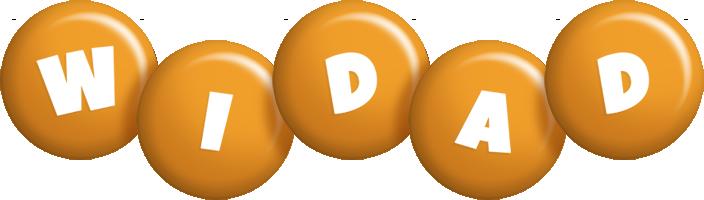 Widad candy-orange logo