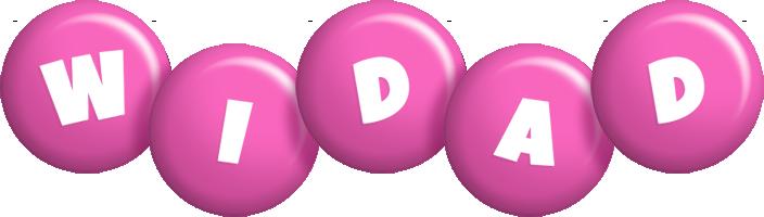 Widad candy-pink logo