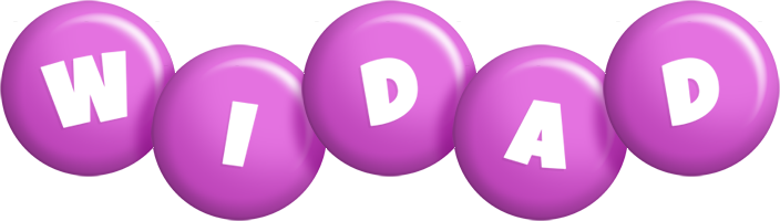 Widad candy-purple logo