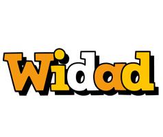 Widad cartoon logo