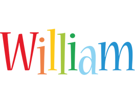 William birthday logo