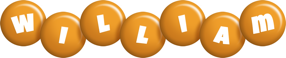 William candy-orange logo