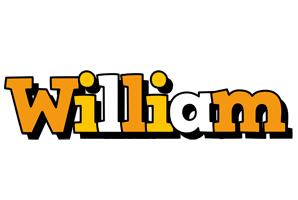 William cartoon logo