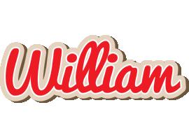 William chocolate logo