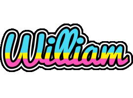William circus logo