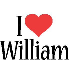 William i-love logo