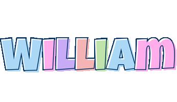 William pastel logo