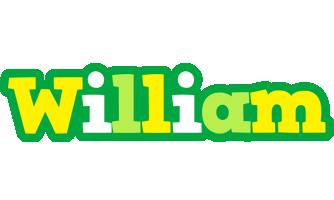 William soccer logo