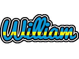 William sweden logo