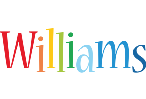Williams birthday logo