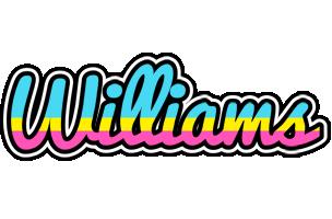 Williams circus logo