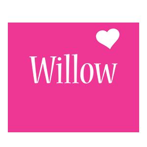 Willow Logo | Name Logo Generator - I Love, Love Heart ...
