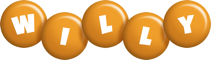 Willy candy-orange logo