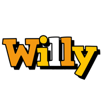 Willy cartoon logo