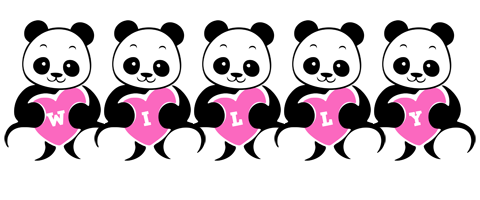 Willy love-panda logo