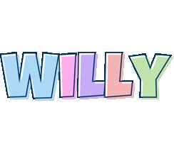 Willy pastel logo