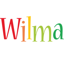 Wilma birthday logo