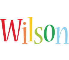 Wilson birthday logo