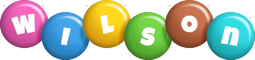 Wilson candy logo