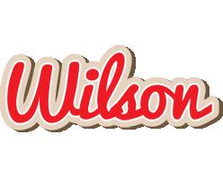 Wilson chocolate logo