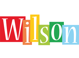 Wilson colors logo