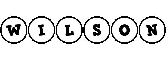 Wilson handy logo