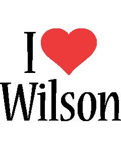 Wilson i-love logo