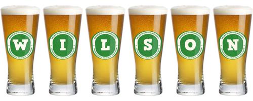 Wilson lager logo