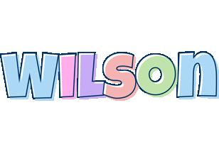 Wilson pastel logo