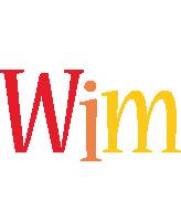 Wim birthday logo