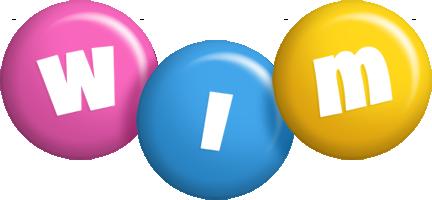 Wim candy logo