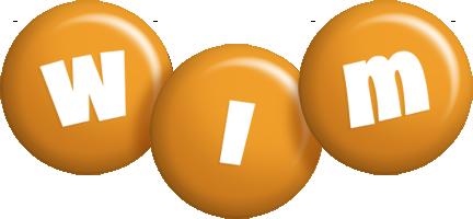 Wim candy-orange logo