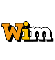 Wim cartoon logo