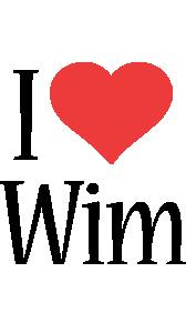 Wim i-love logo
