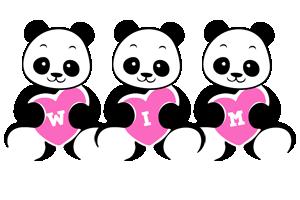 Wim love-panda logo