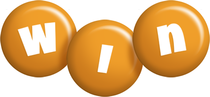 Win candy-orange logo