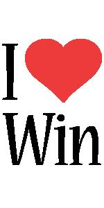 Win i-love logo