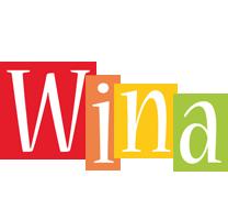 Wina Logo Name Logo Generator Smoothie Summer Birthday Kiddo